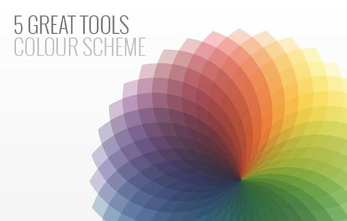 5 great tools to chooe the right colour scheme